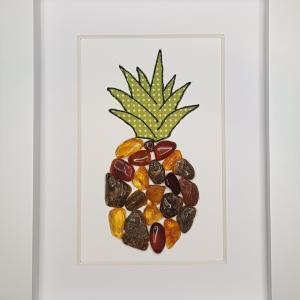 Amber Pineapple - Framed