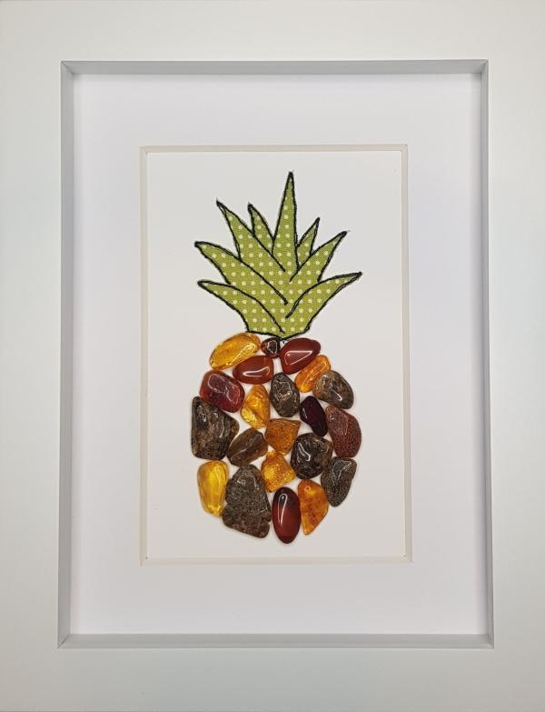 Amber Pineapple - Framed