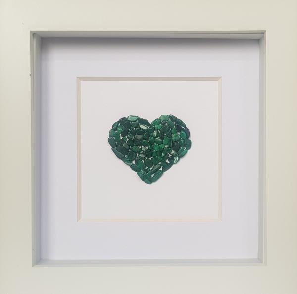 Natural Stone Art - Emerald